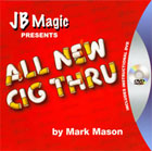 Cigarette Through Card with DVD by JB Magic