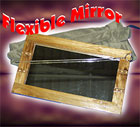 Flexible Mirror with Cloth Bag and Needle