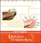Pull Coin, 50 Cent Euro by Tango Magic