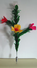Cane to Four Flowered Bouquet