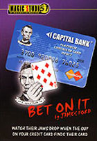 Bet on It Credit Card trick by James Ford