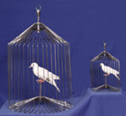 Appearing Bird Cage, Giant, 24 Inch by Tora